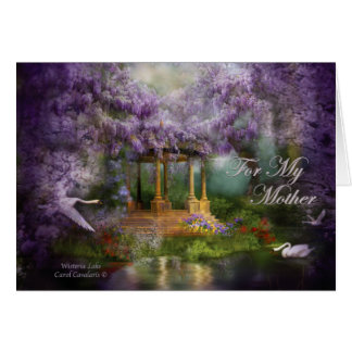 Wisteria Lake Mother's Day ArtCard Card