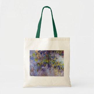 Wisteria (left) by Claudet Monet, Vintage Flowers