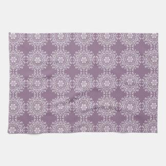 Wisteria Mandala Hand Towels