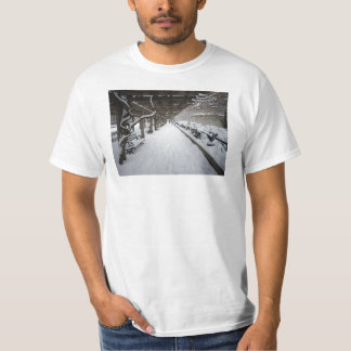 Wisteria Pergola in Winter, Central Park, NYC T-Shirt