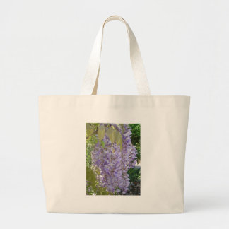 Wisteria Racemes Large Tote Bag