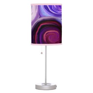 Wisteria Swirls lamp