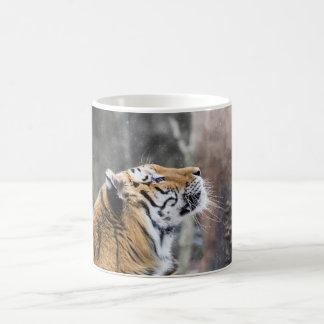 Wistful Winter Tiger Coffee Mug