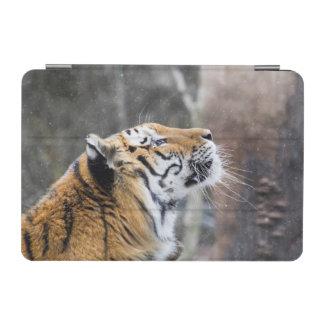 Wistful Winter Tiger iPad Mini Cover