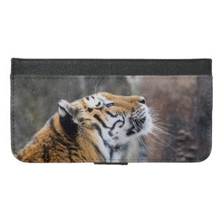 Wistful Winter Tiger iPhone 6/6s Plus Wallet Case