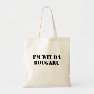 Wit Da Rougarou Funny Louisiana Swamp Monster Tote