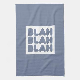 Wit, wisdom and sarcasm kitchen towel