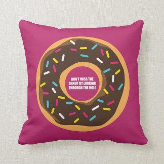 Wit, wisdom and sarcasm throw pillow
