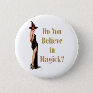 Witch 2 Inch Round Button