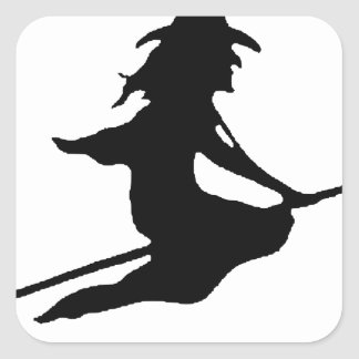 Witch #6 square sticker