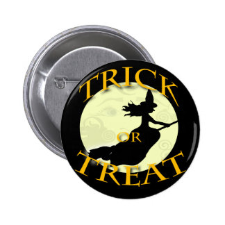 witch-across-the-moon-stamp 2 inch round button