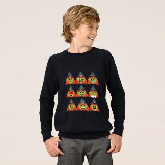 witch All Emoji Halloween Sweatshirt