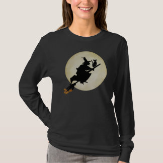 Witch and Cat T-Shirt