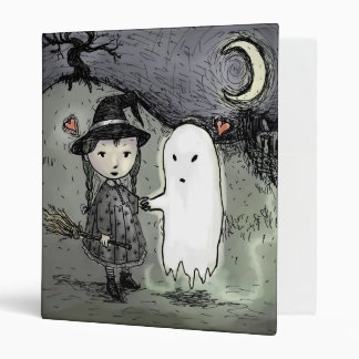 Witch And Ghost In Love Binder