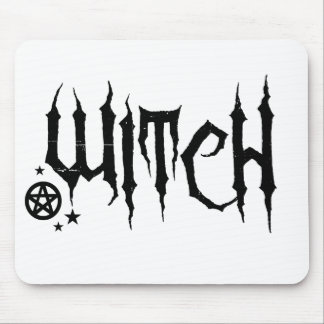 Witch And Pentacle Mousepad