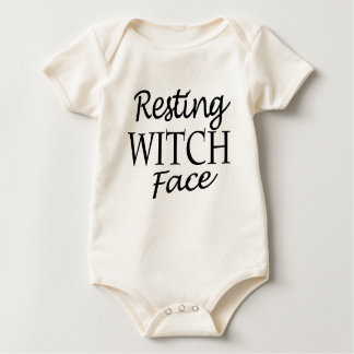 witch baby bodysuit
