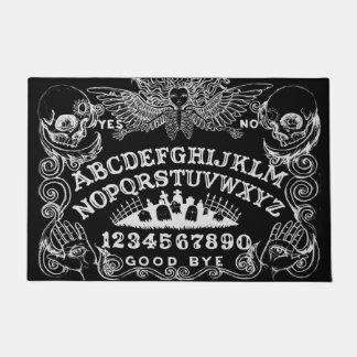 Witch Board Black Door Mat