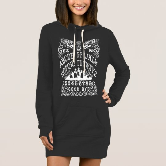 Witch Board Hoodie Dress