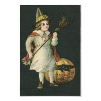 Witch Broom Jack O Lantern Pumpkin Black Cat Art Photo