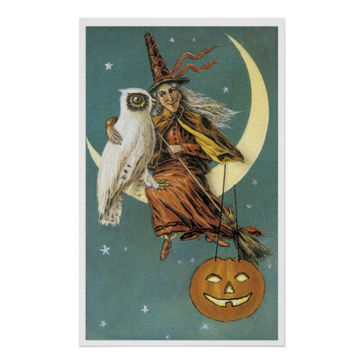 Witch By Night Print