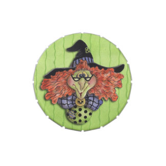 Witch - Candy Tin