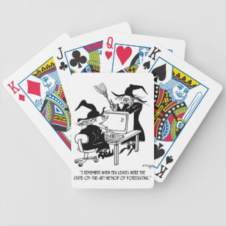 Witch Cartoon 4864 Bicycle Playing Cards
