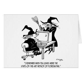 Witch Cartoon 4864 Card