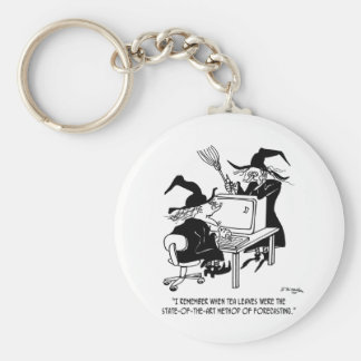 Witch Cartoon 4864 Keychain