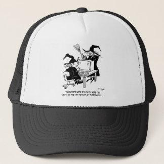 Witch Cartoon 4864 Trucker Hat