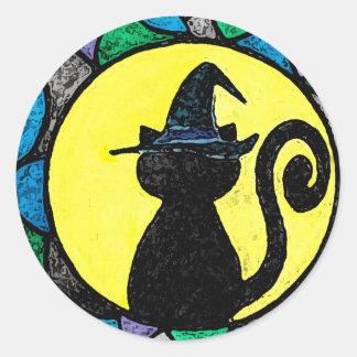 Witch Cat Sticker