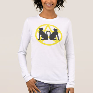 Witch Cats Long-Sleeved T Long Sleeve T-Shirt