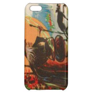 Witch Cauldron Black Cat Full Moon iPhone 5C Covers