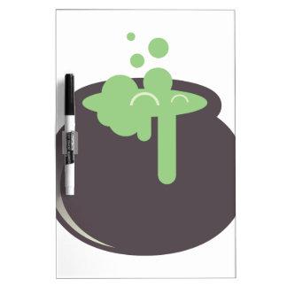 Witch Cauldron Dry Erase Board