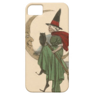 Witch Crescent Moon Owl iPhone 5 Cases