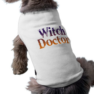 Witch Doctor Pet T-shirt