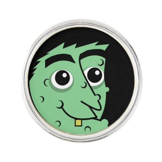 Witch Face Lapel Pin