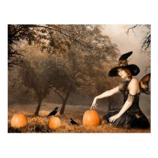 Witch Fairy Postcard