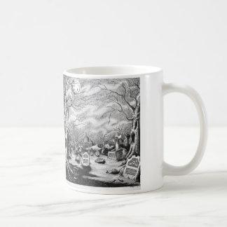 Witch & Graveyard Coffee Mug