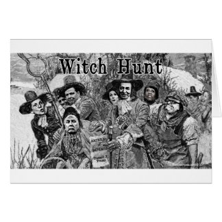 Witch Hunt Card