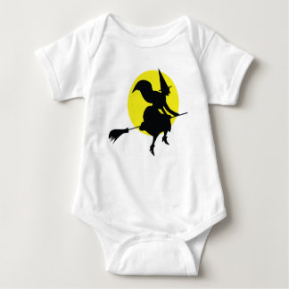 Witch Illustration Baby Bodysuit