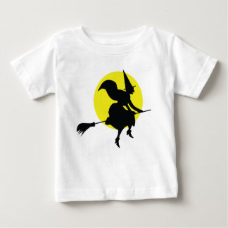 Witch Illustration Baby T-Shirt