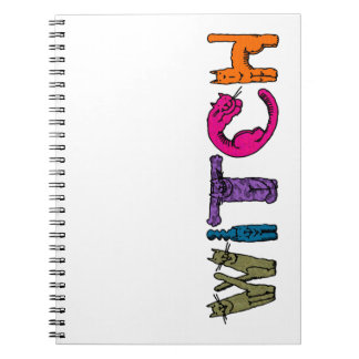 """""""Witch"""" in Cat Letters Note Books"""