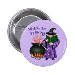 Witch in Training 2 Inch Round Button