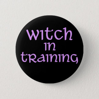 Witch-in-Training 2 Inch Round Button