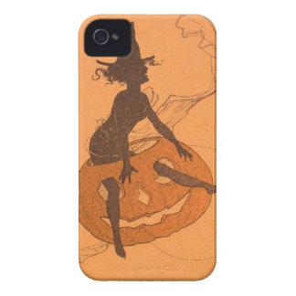 Witch Jack O Lantern Pumpkin Case-Mate iPhone 4 Cases