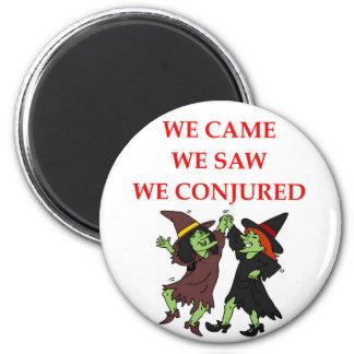 witch joke magnet