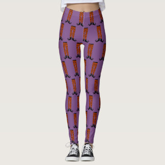 Witch Legs Halloween Leggings