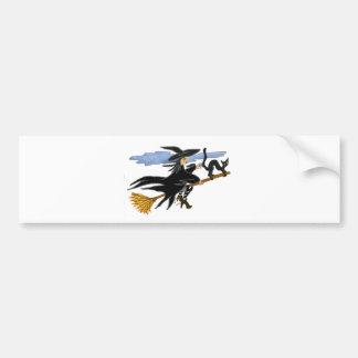 Witch Liddie and Hackamor Bumper Sticker
