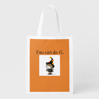 Witch Mary's vigor it comes out Reusable Grocery Bag