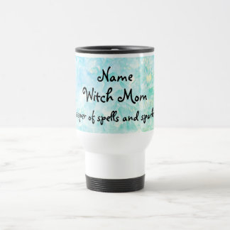 Witch Mom personalised Travel Mug